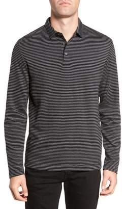 French Connection Alternative Stripe Long Sleeve Polo