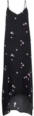 Equipment Esther Floral-print Crepe De Chine Midi Slip Dress
