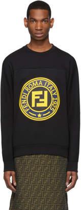 Fendi Black Logo Sweatshirt