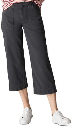 Whistles Cropped Cargo Pants
