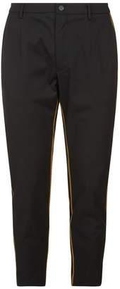 Dolce & Gabbana Grosgrain Side Stripe Trousers