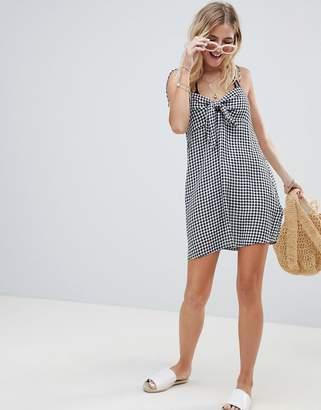 Billabong Tie Shoulder Sweet Pie Beach Dress