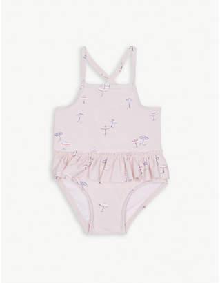 The Little White Company Umbrella swimming costume 0-24 months
