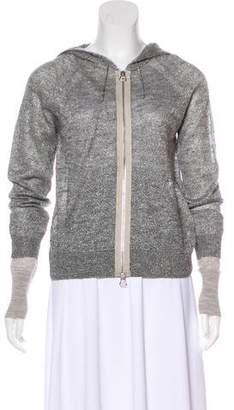 3.1 Phillip Lim Metallic Knit Cardigan