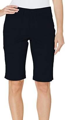 Gloria Vanderbilt Women's Delilah Comfort Elastic Waistband Bermuda Short