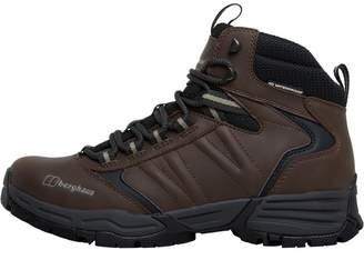Berghaus Womens Expeditor AQ Ridge Tech Hiking Boots Brown/Light Green