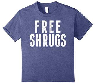 Free Shrugs Sarcastic Funny Vintage Graphic T-Shirt