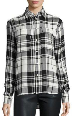 Polo Ralph Lauren Plaid Shirt $145 thestylecure.com