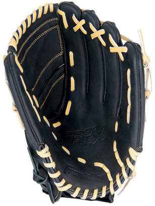 "Franklin Sports 12.0"" Pro Flex Hybrid Series Black/Camel Baseball Glove Right Handed Thrower"