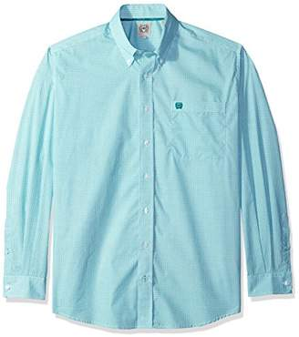 Cinch Men's Print Long Sleeve Button Down Shirt - Mtw1104605