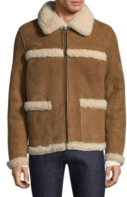A.P.C. Canadienne Shearling Coat