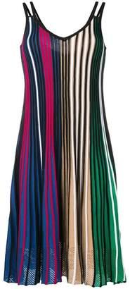 Kenzo striped midi dress