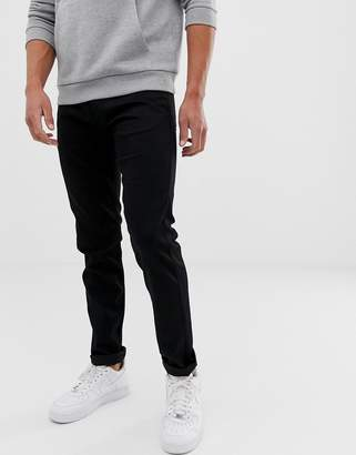 Replay Anbass stretch slim jeans in black