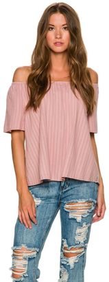 Rhythm Melody Off The Shoulder Top $49.95 thestylecure.com