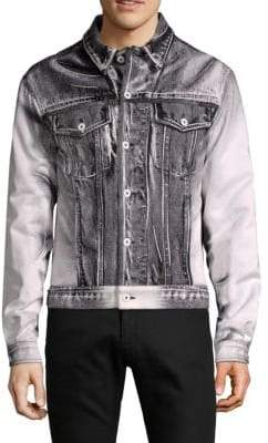 Moschino Point Collar Denim Jacket