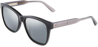 Bottega Veneta Square Acetate Sunglasses