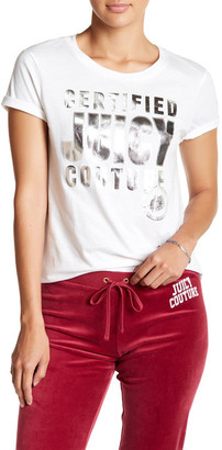 Juicy Couture Certified Juicy Tee $19.97 thestylecure.com