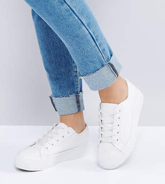 New Look Wide Fit Chunky Flatform Sneaker