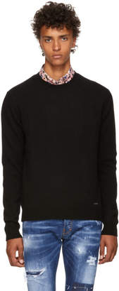 DSQUARED2 Black Fin.7 Sweater