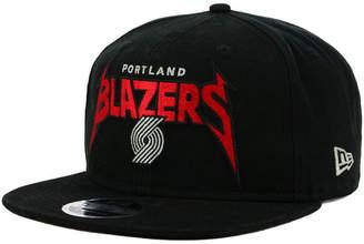 New Era Portland Trail Blazers 90s Throwback Groupie 9FIFTY Snapback Cap