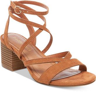 Madden Girl Leexi Block-Heel Sandals $49 thestylecure.com