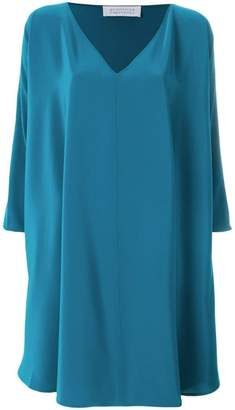 Gianluca Capannolo oversized side ruffle dress