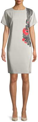 Piazza Sempione Women's Printed Sheath Dress