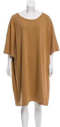 Dries Van Noten Oversize Knee-Length Dress
