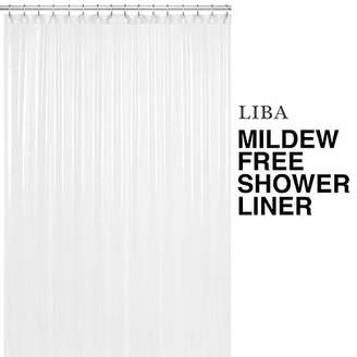 clear Heavy Duty PEVA Shower Curtain Liner 72x72 10G Thickness