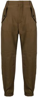 Chloé cropped cargo trousers