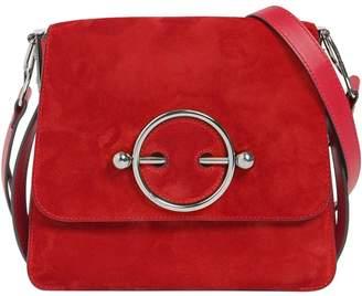 J.W.Anderson Disc Bag Suede Shoulder Bag
