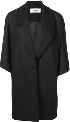 Chalayan oversized button coat