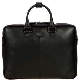 Bric's Varese Business Saffiano Leather Small Briefcase