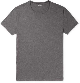 Paul Smith Mélange Pima Cotton-Jersey T-Shirt