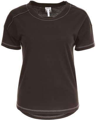 Loewe T-shirt With Embroidered Logo