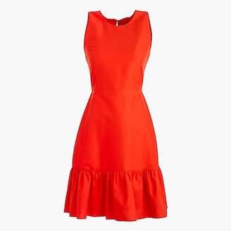 J.Crew Petite Dropwaist dress in classic faille