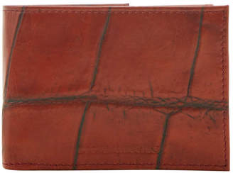 Dooney & Bourke Croco Billfold with Train Pass
