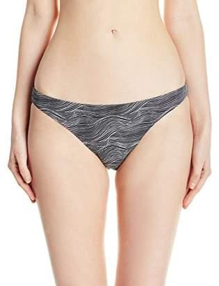 RVCA Women's Hi Tide Full Reversible Bikini Bottom