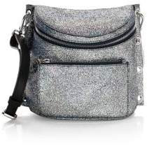 Furla Arcobaleno Metallic Leather Crossbody Bag
