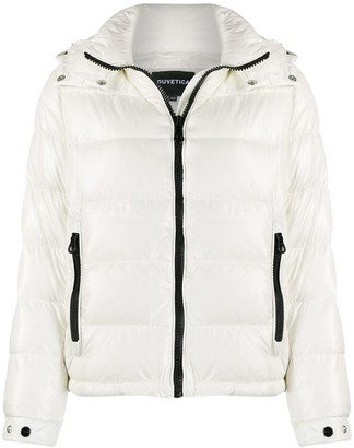 Duvetica hooded puffer jacket