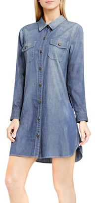 Women's Two By Vince Camuto Denim Shirtdress $129 thestylecure.com
