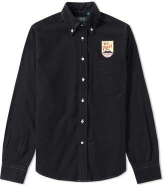 Gitman Brothers Mt. Fuji Patch Flannel Shirt