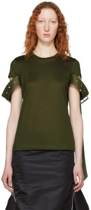 Marques Almeida Green Belt Sleeve T-Shirt