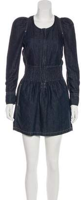 Etoile Isabel Marant Denim Mini Dress