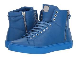 MCM Embossed Logo High Top Turnlock Sneaker Men's Shoes
