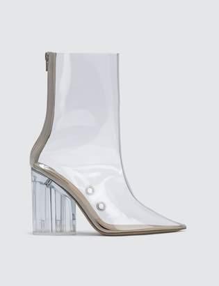 d930b7bed59 Yeezy Ankle Boot In Pvc 100mm Heel
