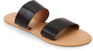 Sasha Double Band Slide Sandals