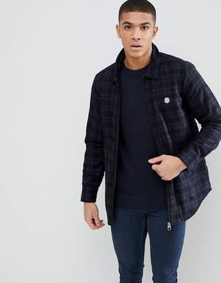 Le Breve Padded Check Jacket