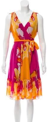 Diane von Furstenberg Rewa Short Wrap Dress