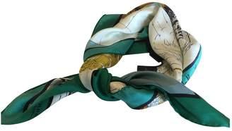 Burberry Green Silk Silk handkerchief